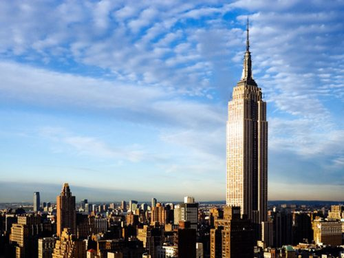 A woman once jumped off the 86th floor of the Empire State Building, and luckily she LIVED.